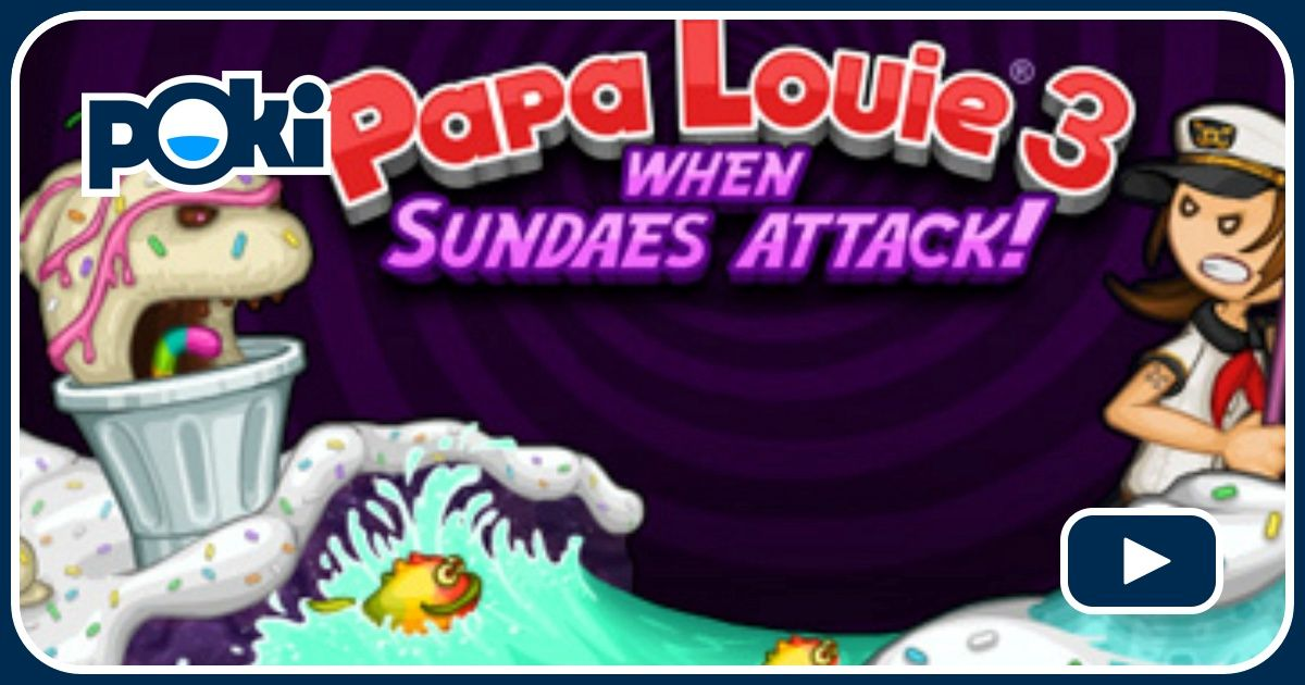 Papa Louie 3 Game - Play on iPhone, Android and Windows ...
